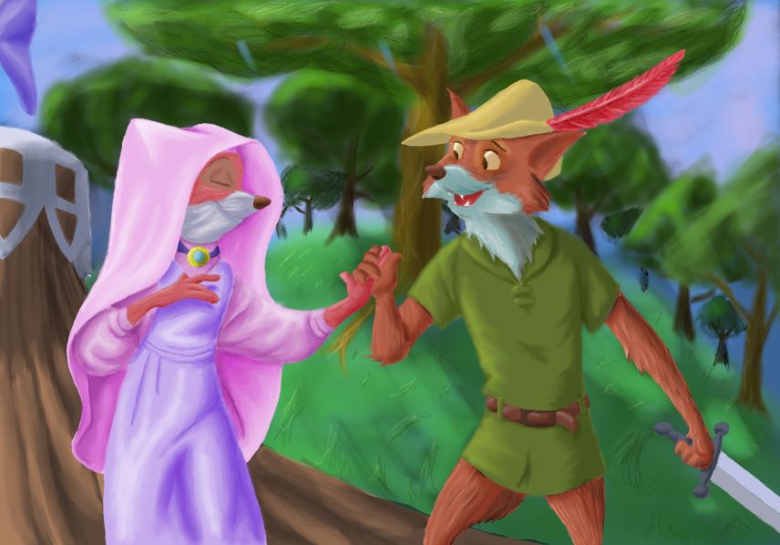 Robin and Marian by DaffydWagstaff