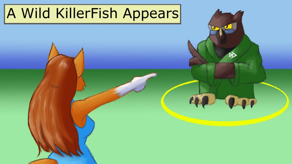 Wild KillerFish by DaffydWagstaff