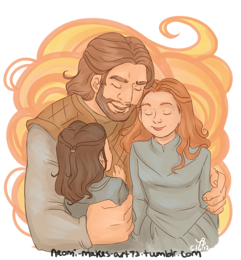 Happy Father's Day, Ned! by naomi-makes-art73