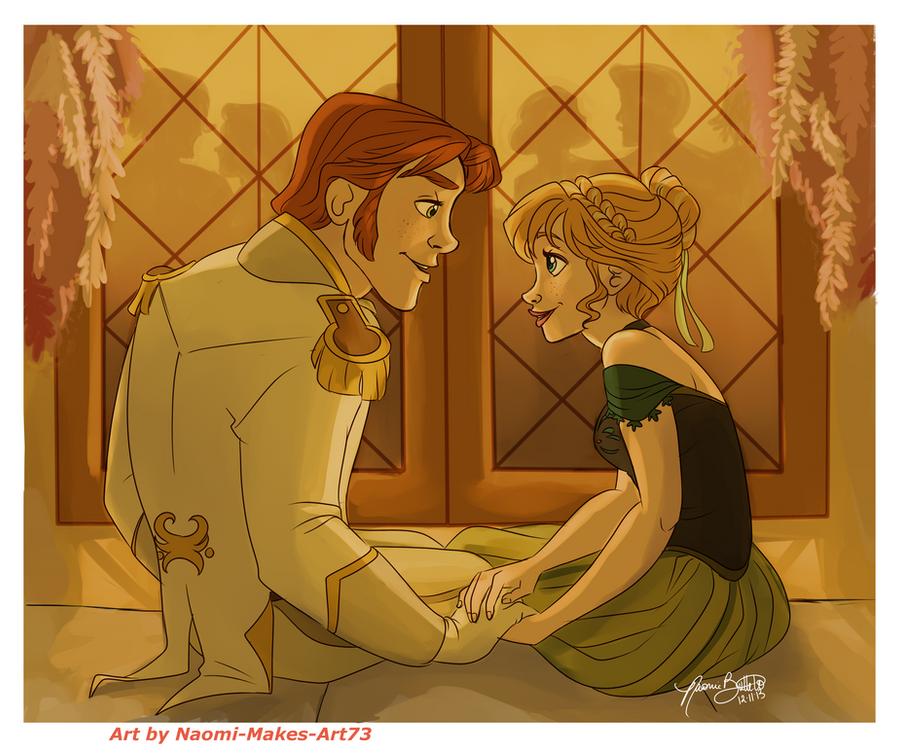 Frozen Anna Is an Open Door Love