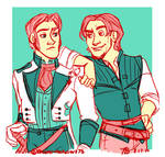 Hans and Eugene