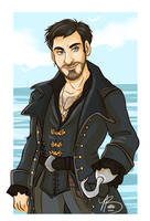 Hook by naomimakesart