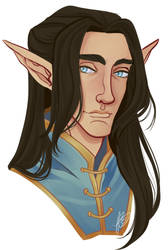 Fingolfin by naomimakesart