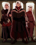 Aegon, Visenya and Rhaenys