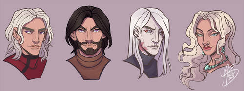 The Great Bastards by naomimakesart