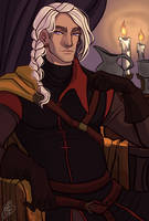 Favorites Countdown: Daemon Targaryen by naomimakesart