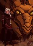 Favorites Countdown: Visenya Targaryen by naomimakesart