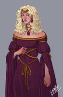 Rhaena Targaryen by naomimakesart