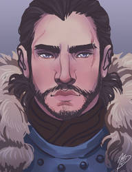 The King in the North by naomimakesart