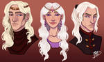 Children Of The Mad King by naomimakesart