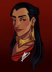 Patreon Reward: The Unnamed Princess of Dorne by naomimakesart