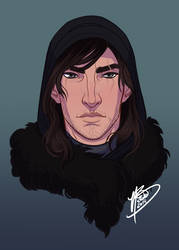 Lord Crow by naomimakesart