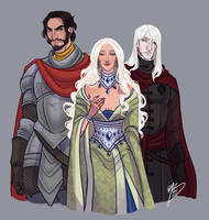 Bittersteel, Shiera Seastar and Bloodraven