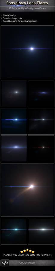 Conspiracy Lens Flares