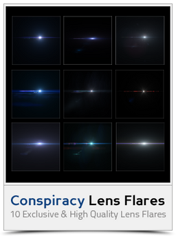 AD - Conspiracy Lens Flares