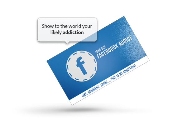 Facebook addict business card by khaledzz9 on deviantart facebook addict business card by khaledzz9 colourmoves