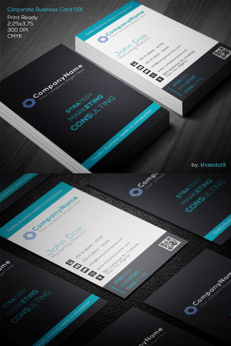 Corporate Business Card 001