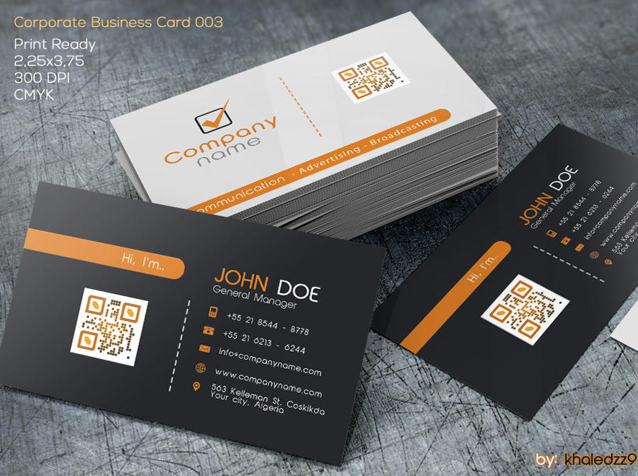 Corporate Business Card 003