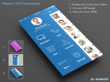 iPhone 5 APP Presntation