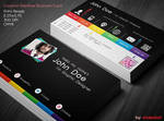 Creative Rainbow Business Card