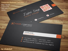 Corporate Business Card 005 by khaledzz9