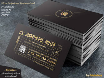 Ultra Profesional Business Card