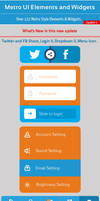 Metro UI Elements and Widgets update 04 by khaledzz9
