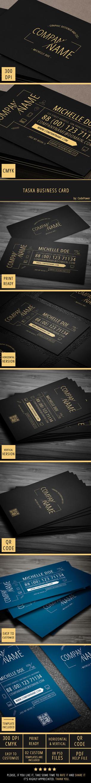 Taska Business Card by khaledzz9