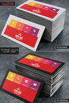 2 in 1 Corporate Business Card