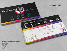 Creative Rainbow Business Card II