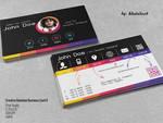Creative Rainbow Business Card II