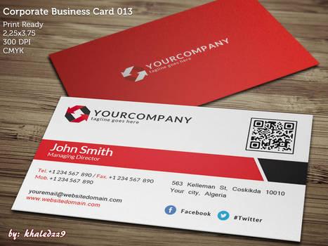 Corporate Business Card 013