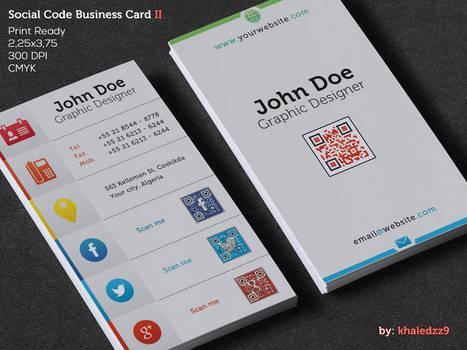Social Code Business Card II