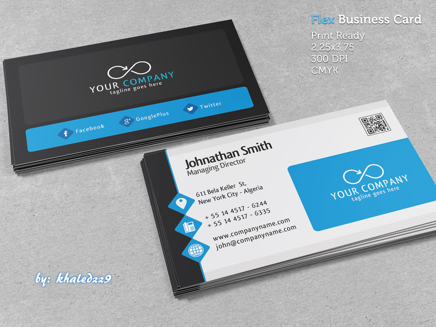 Flex Business Card by khaledzz9