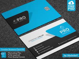 Creative Business Card 002 by khaledzz9