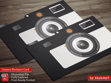 Camera Business Card