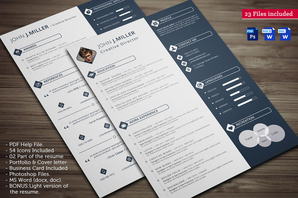 cv resume by khaledzz9 on deviantart
