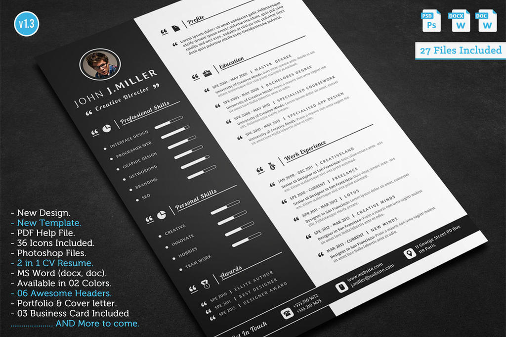 Make Designer Resume
