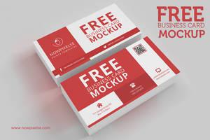 FREE Business Card Mockup 01 by khaledzz9