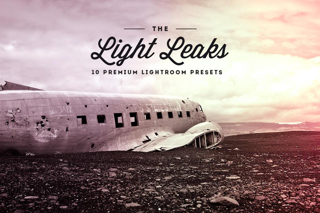 Light Leaks Vol.01- Lightroom Preset by khaledzz9
