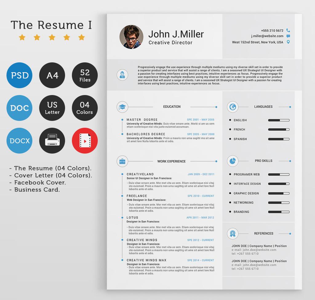 The Resume I By Khaledzz9 On Deviantart