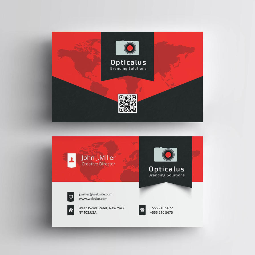 Business Card 01 by khaledzz9