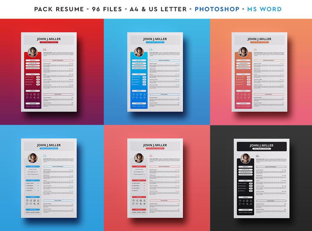 Resume Pack -  96 Files by khaledzz9