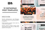 12 Instagram Post Templates
