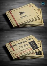 Vintage Business Card 001
