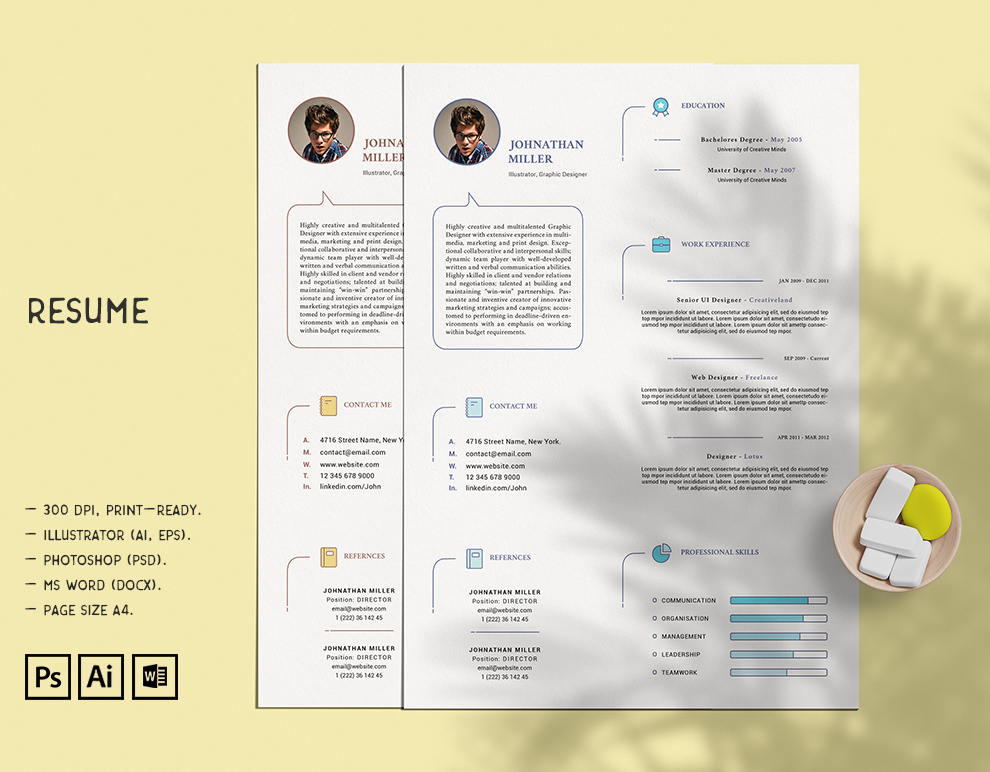 Resume Template - Microsoft Word