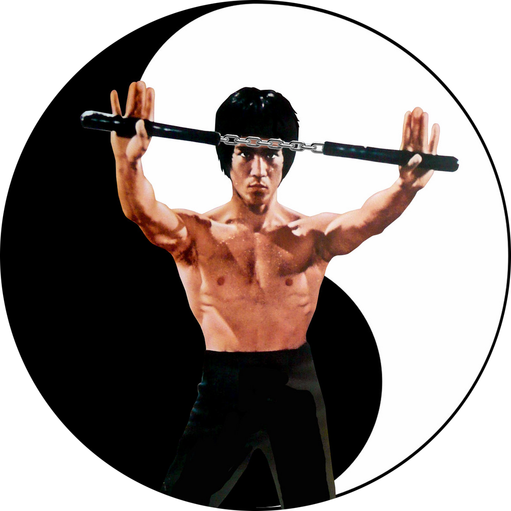 Yin Yang Bruce Kung Fu Nunchuck By Gdsfgs On Deviantart