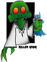 Lil' Killer Croc by 5chmee