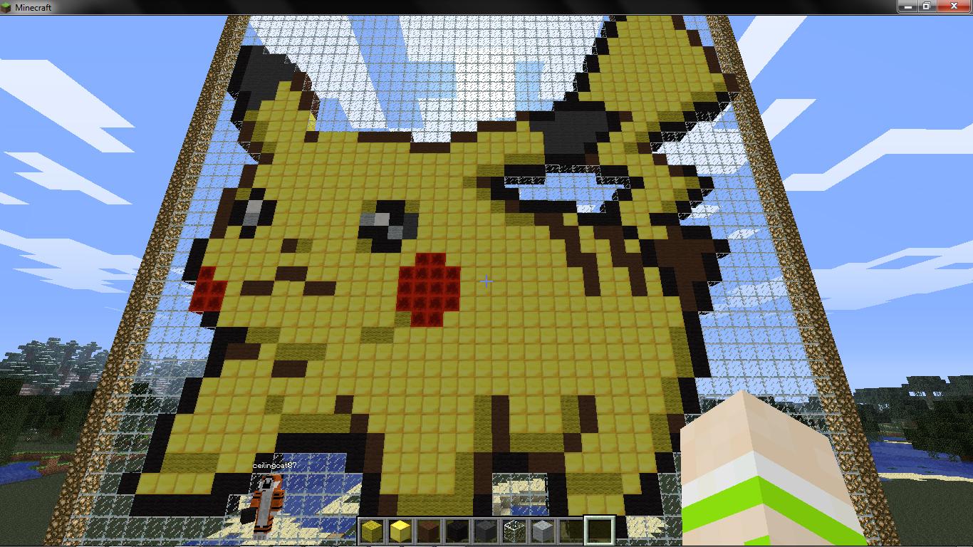 Pixel Art Grid Pokemon Pikachu Www Imgkid Com The