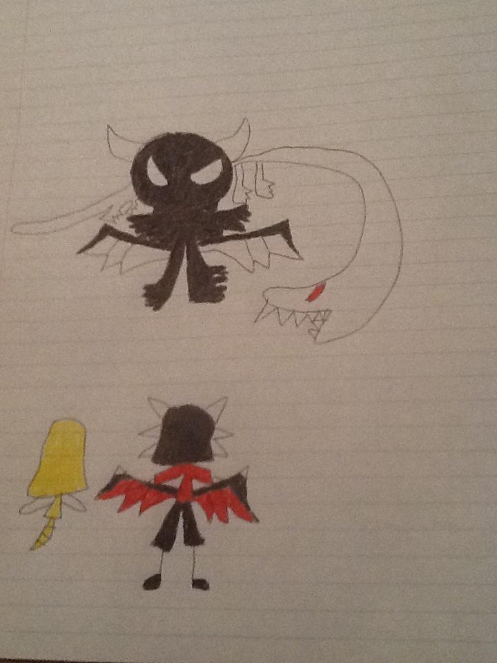 Dark Dragon Selena's Original Design by pjvglover
